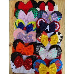 Disney Mystery Headband Bow Bundle 3/$30
